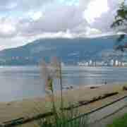 Third Beach Vancouver British Columbia View