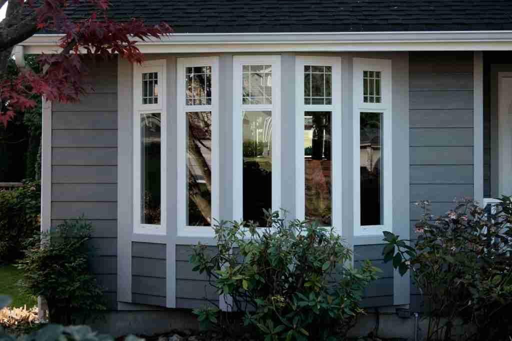 Custom Bay & Bow windows installation at Gale Residence 2