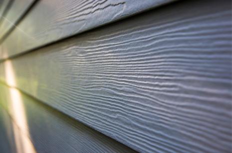 cedar or fibre siding